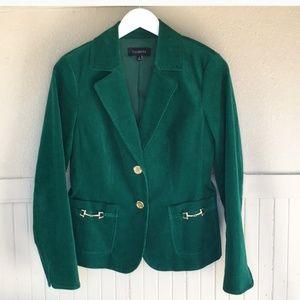 GORGEOUS TALBOTS corduroy jacket size 8